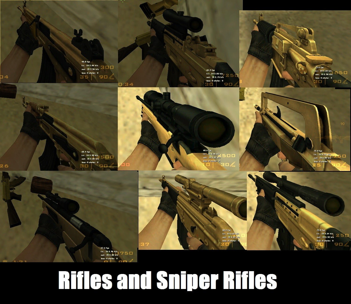 Golden Weapons Pack (v2)