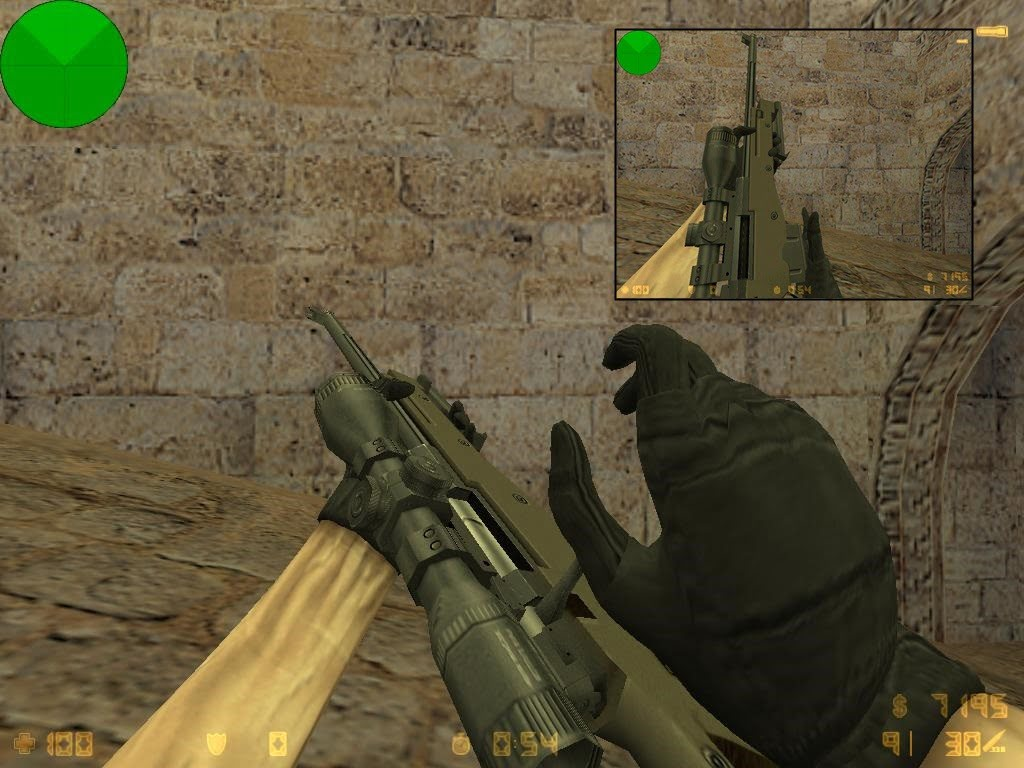 Default weapons recompile