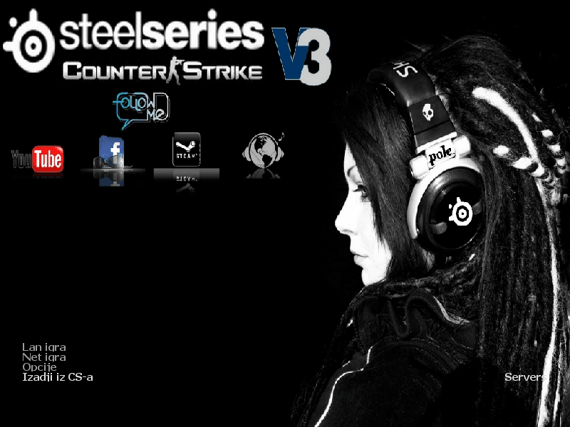 Counter Strike 1.6 – SteelSeries v3 by PoLe