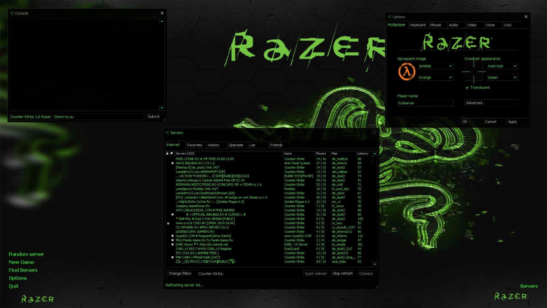 Counter Strike 1.6 – Razer Edition