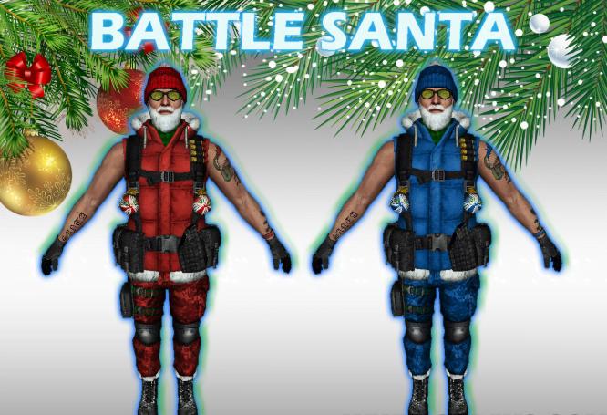 Santa Skin HD